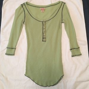 Mossimo green blouse